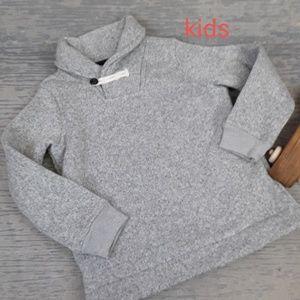 NWOT Oshkosh grey collared sweatshirt